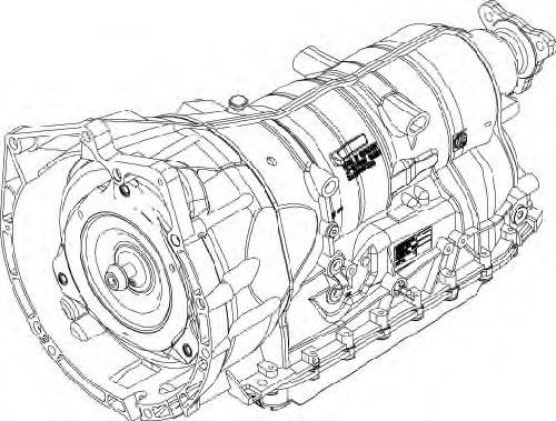 1071.012.090 ZF Автоматическая коробка передач