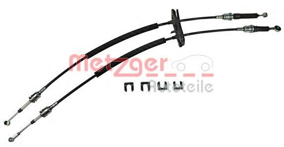 3150059 METZGER Трос, ступенчатая коробка передач
