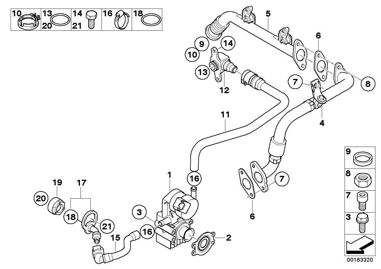 Bmw N53 Engine Diagram Automotive Wiring Diagrams 5 Series Intake Manifold Systemagr E60 Lci 523i Europe