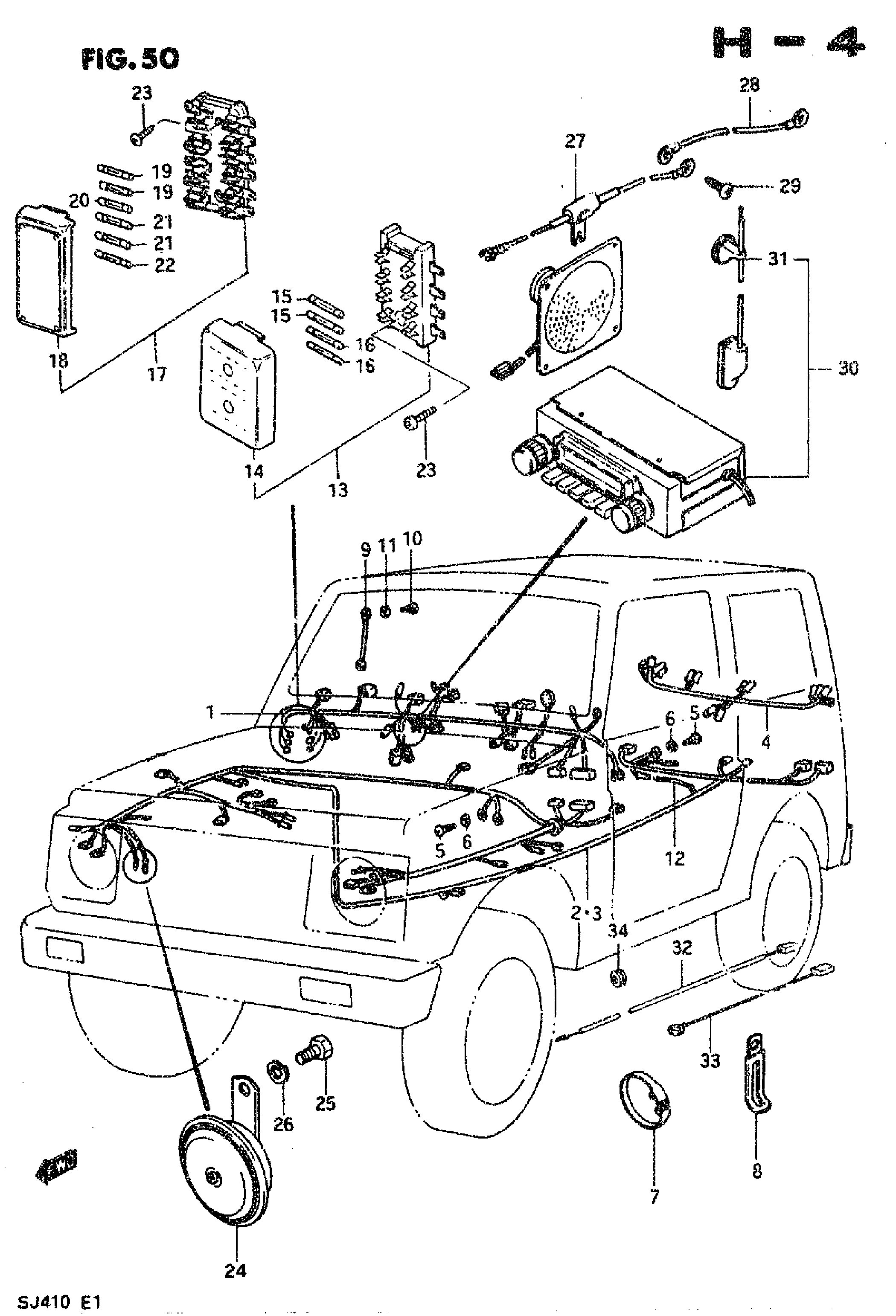 WIRING HARNESS (TYPE 1)