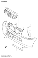 FRONT BUMPER (TYPE 2,3,4)