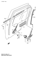 REAR DOOR REGULATOR