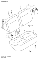 REAR SEAT (TYPE 2,3,4:SEPARATE)