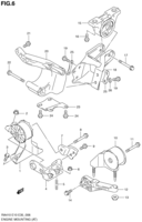 ENGINE MOUNTING (AT)