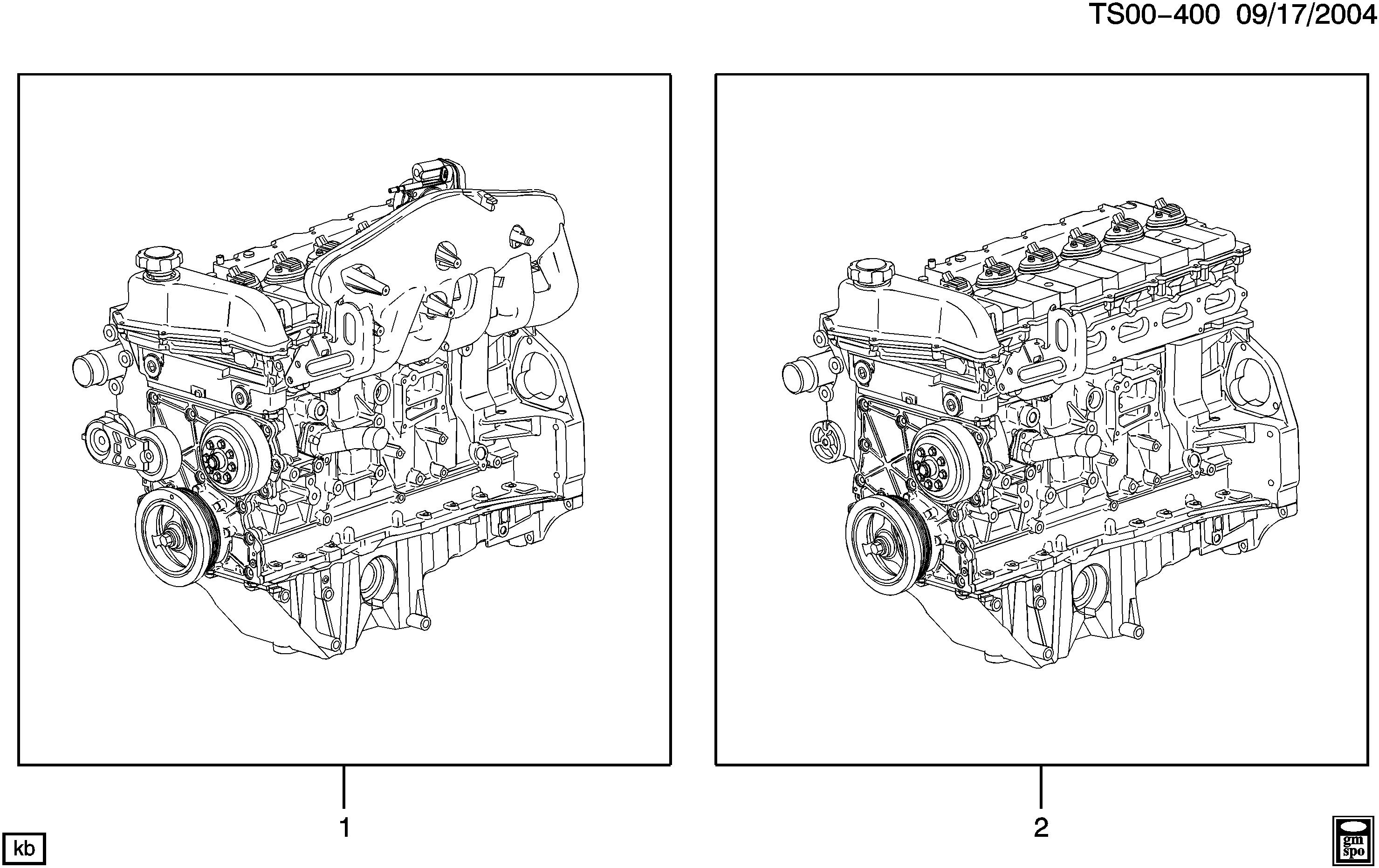 2005-2009 T1 ENGINE ASM & PARTIAL ENGINE (LL8/4.2S)