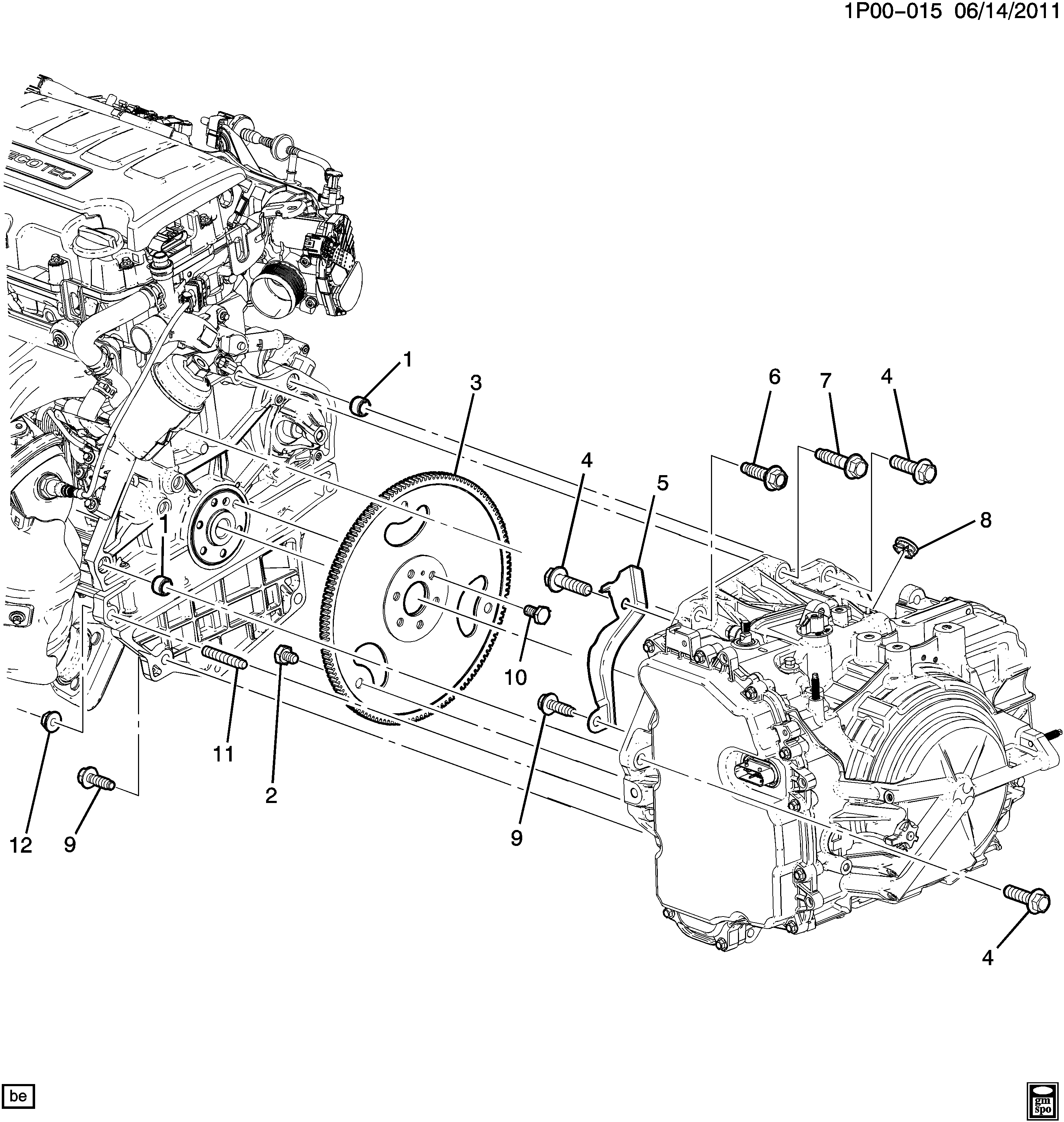 Chevy Sonic Engine Diagram