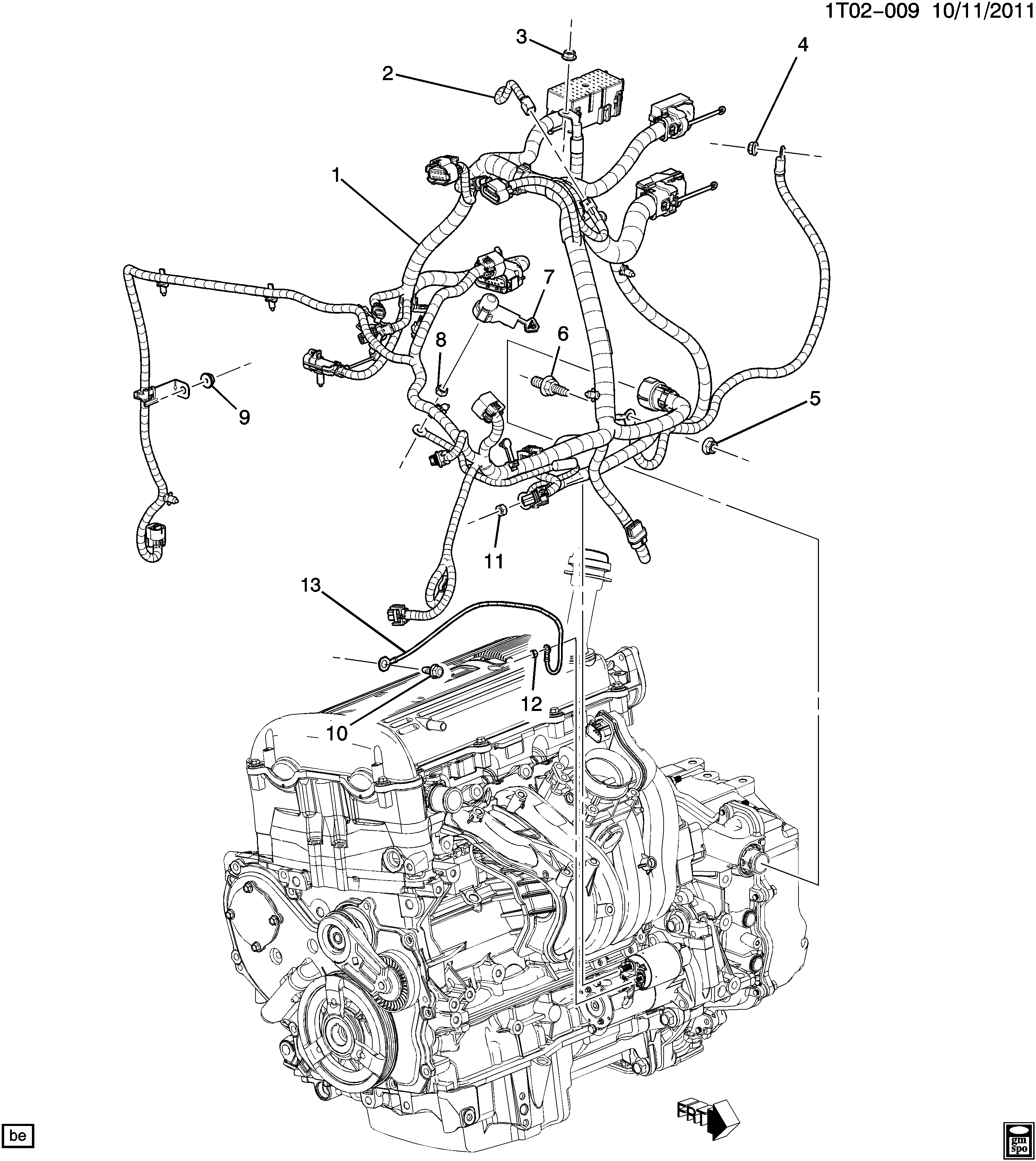 2007 hhr engine wiring diagram