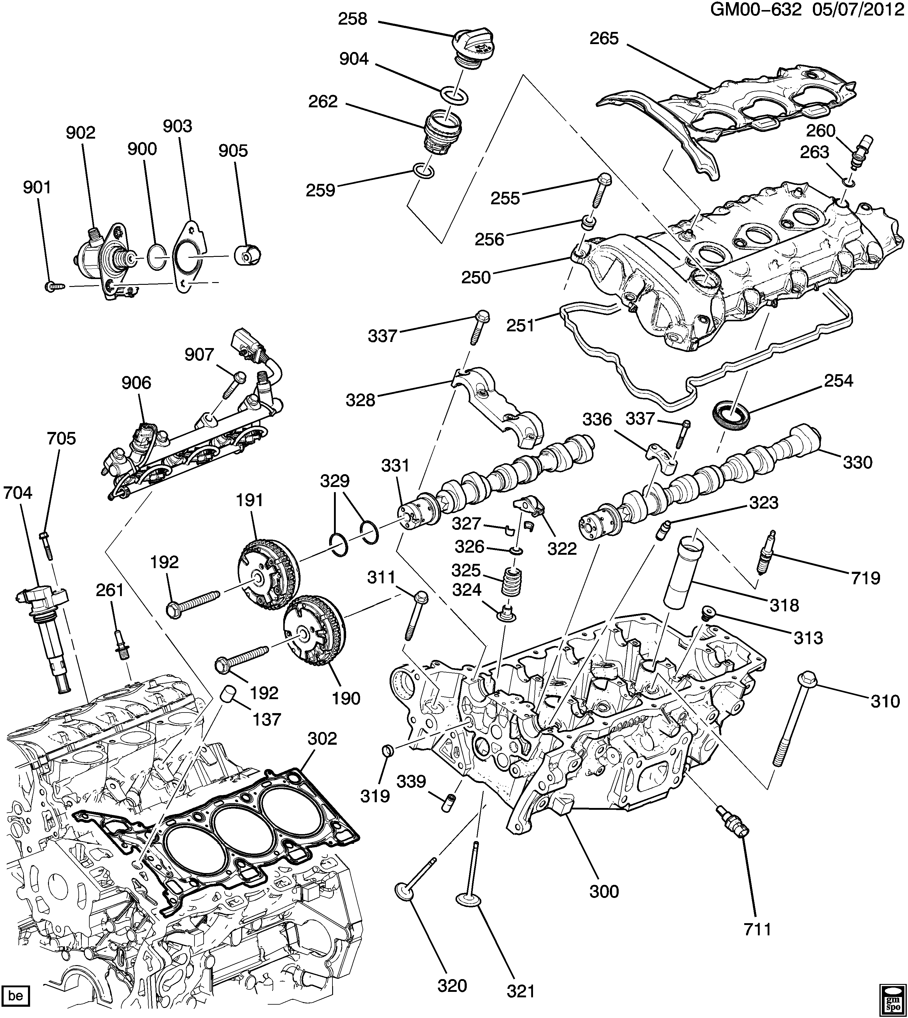 2013 Chevy Impala Engine Diagram