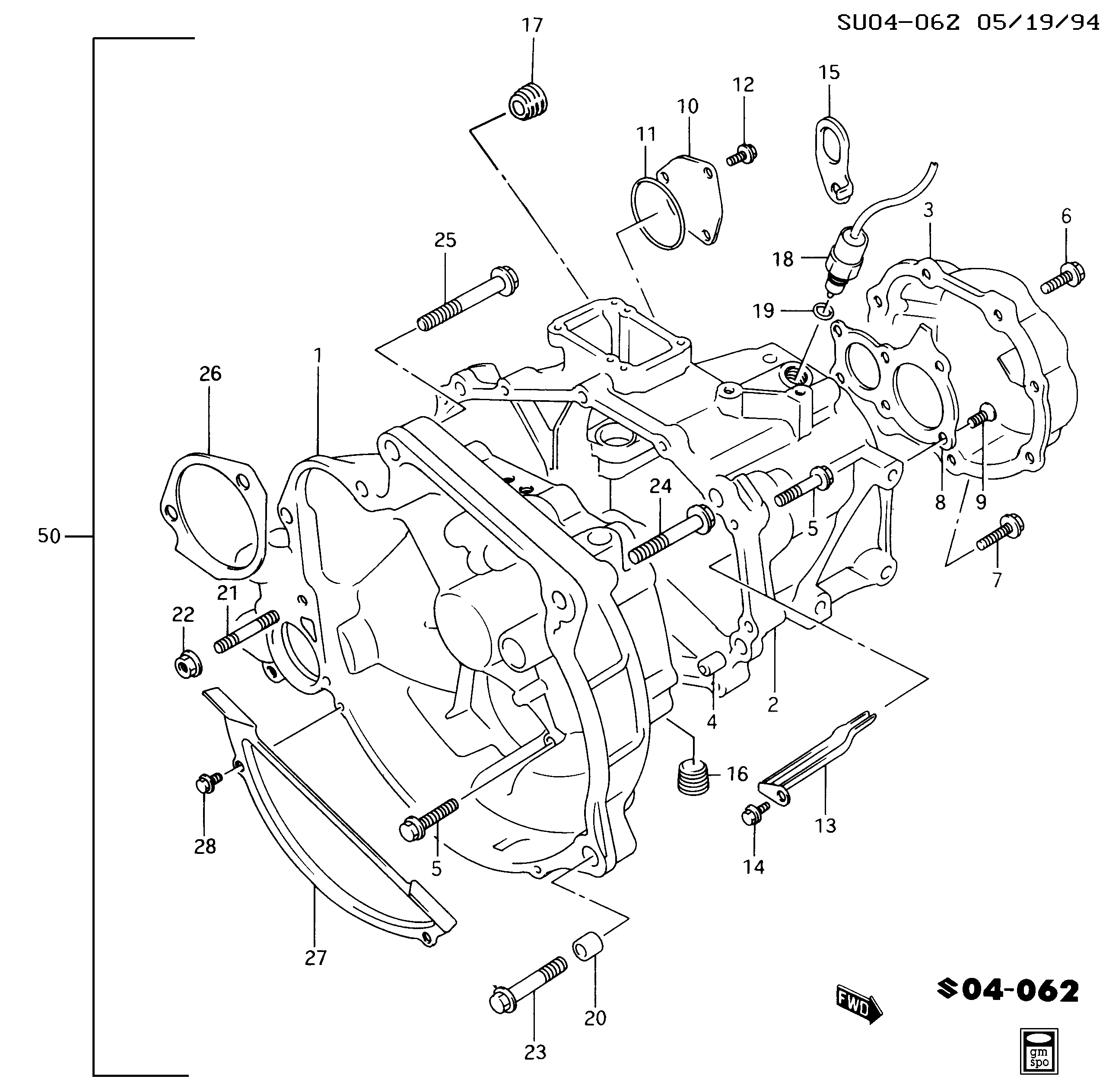 95 Geo Metro Engine Diagram