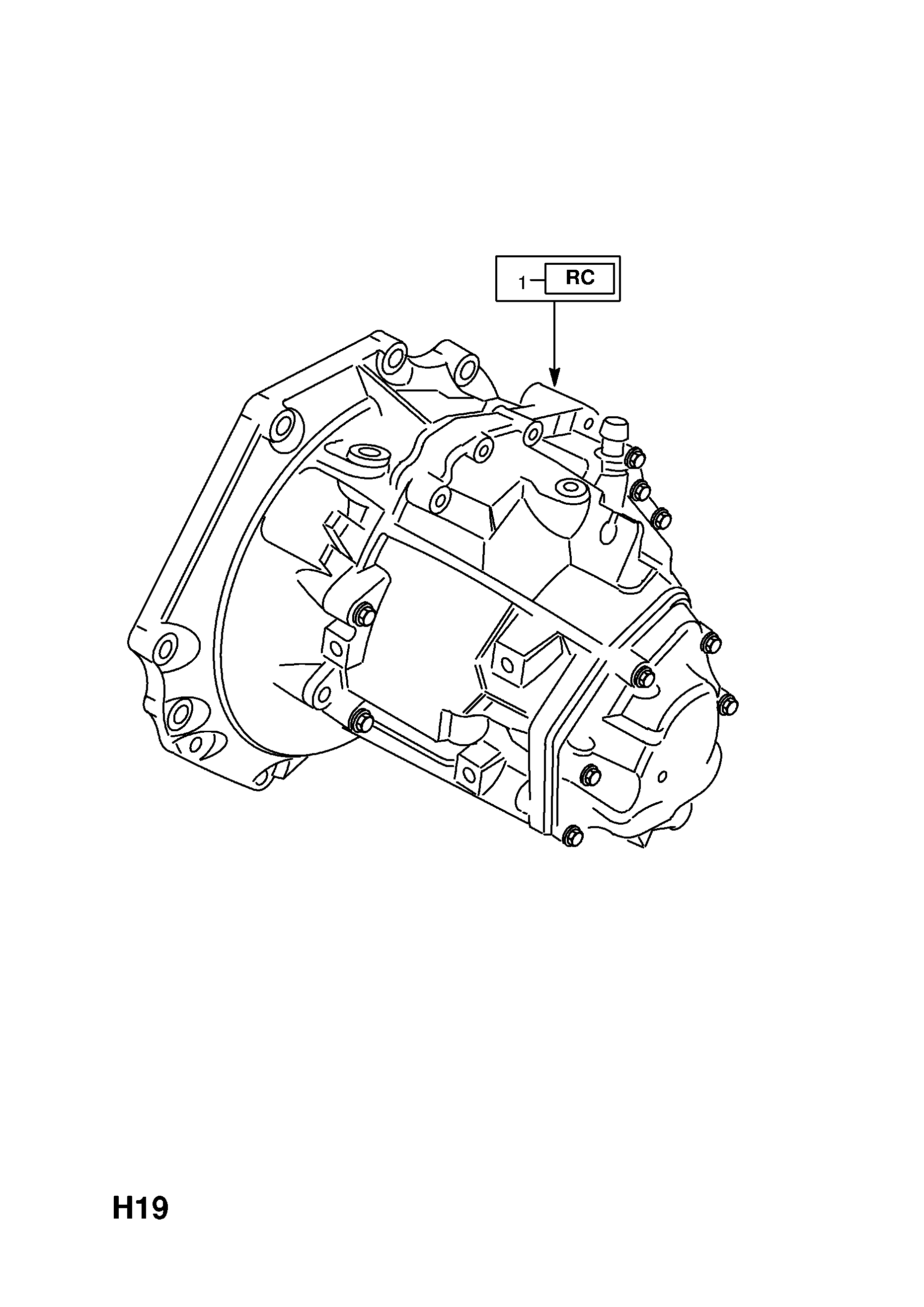 Transmission Assembly Exchange For Vauxhall Opel Vectra B Diagrams