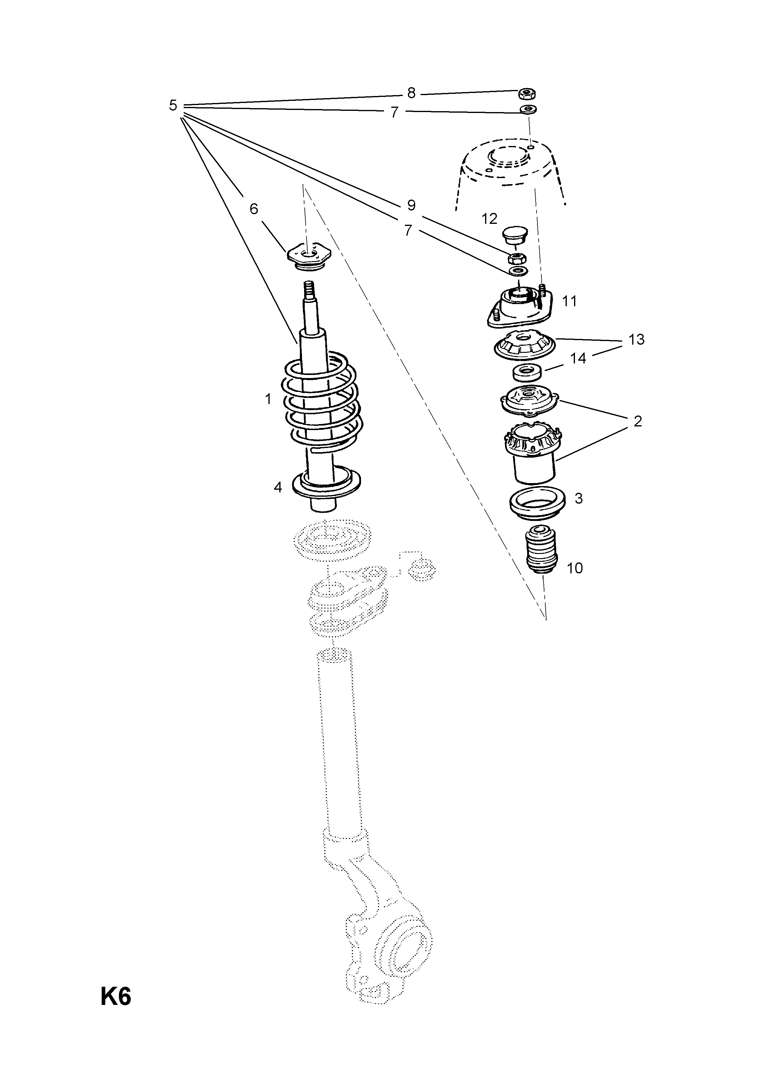 Opel Transmission Diagrams Front Springs 17dlu717drlu7 Used With Manual Astra F