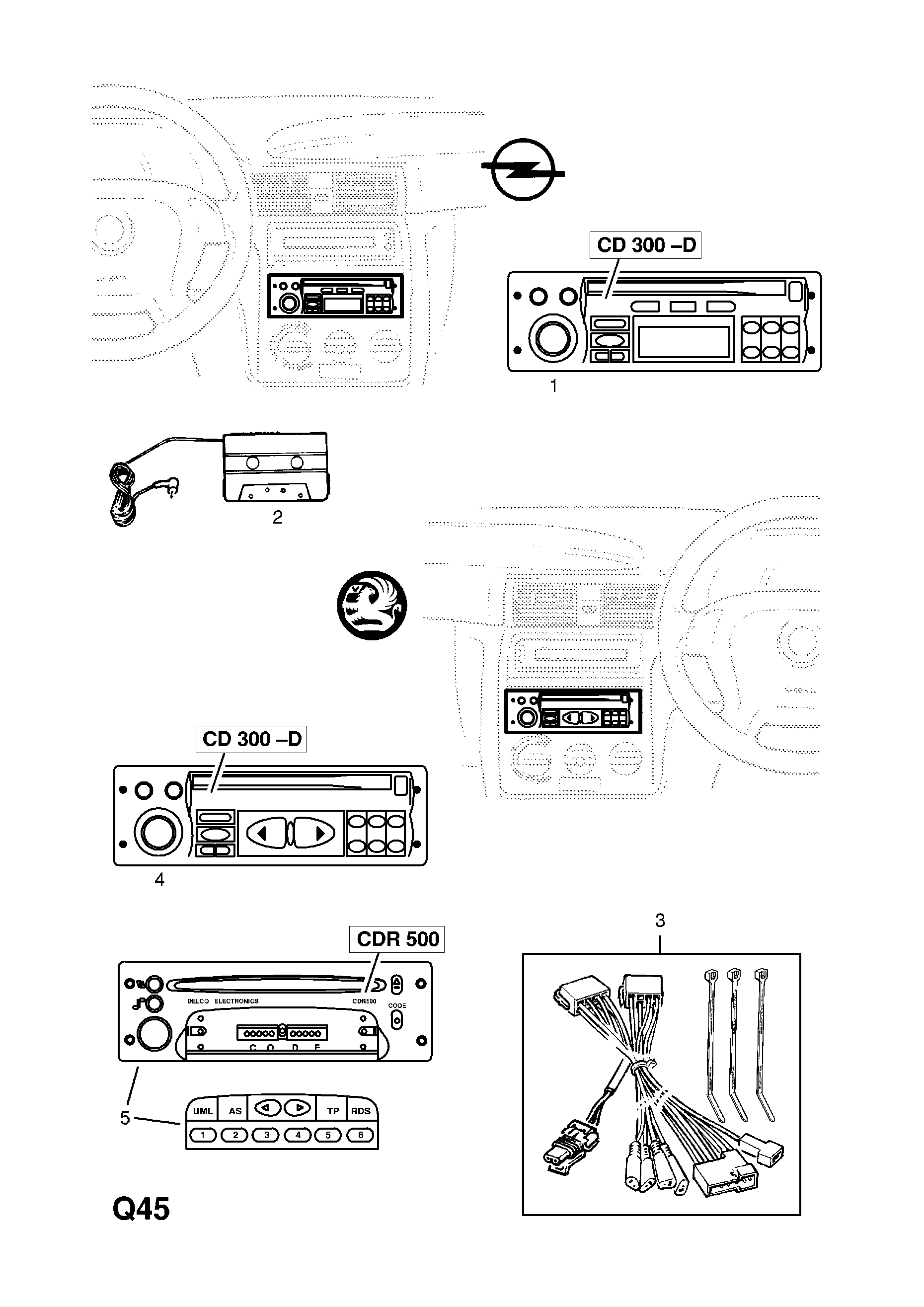 Vauxhall Cdr 500 Wiring Diagram Library For Opel Astra Compact Disc Radio F