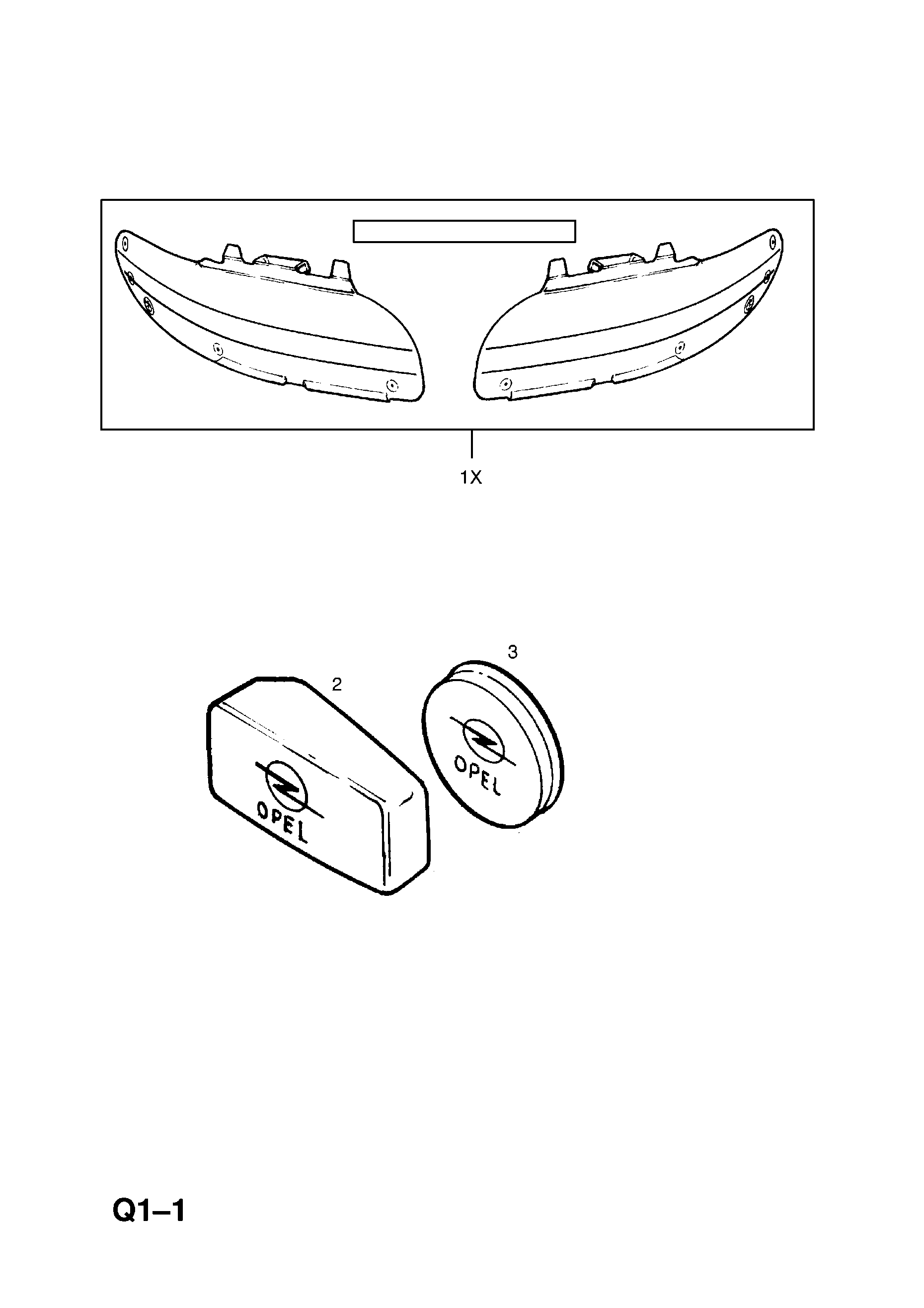 HEADLAMP PROTECTIVE COVER