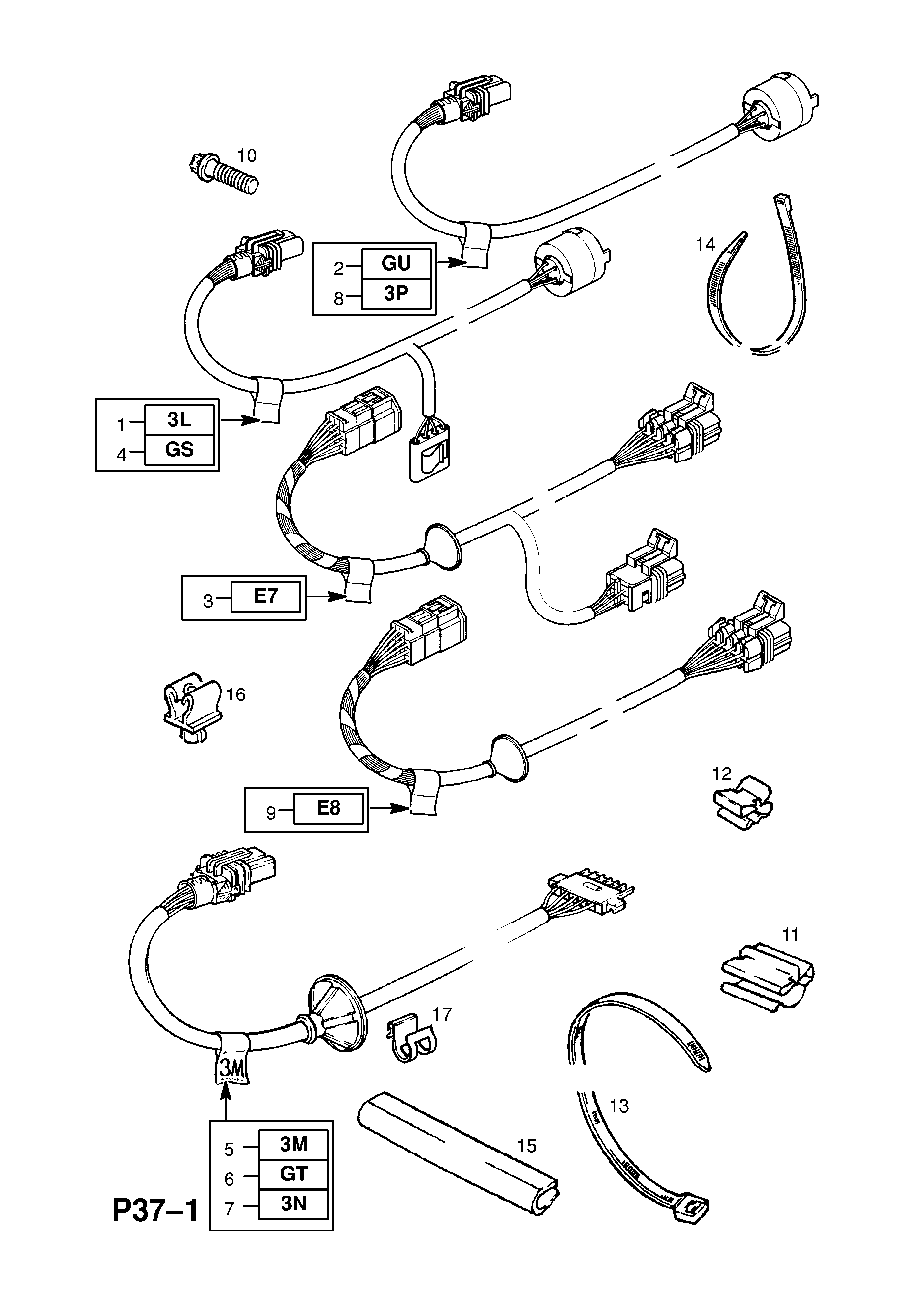 Suspension Levelling Harness Used With Automatic Self Opel Omega B Wiring Diagram Device