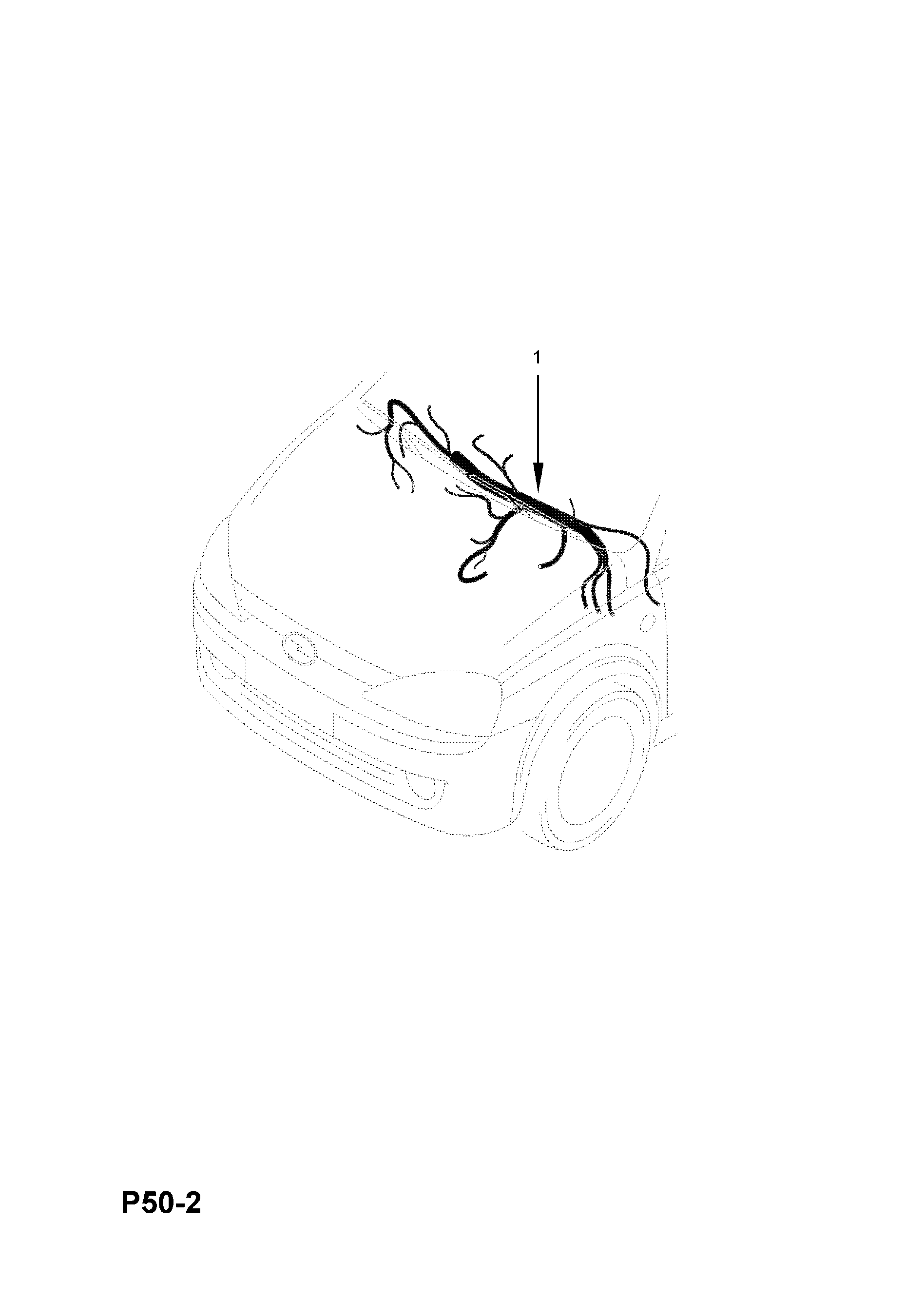 Instrument Panel Wiring Harness Contd Excside Air Bag Rhd Hatch Hatchvan F08f68 23000001 23999999 24000001 24999999 26000001 26999999 Vauxhall