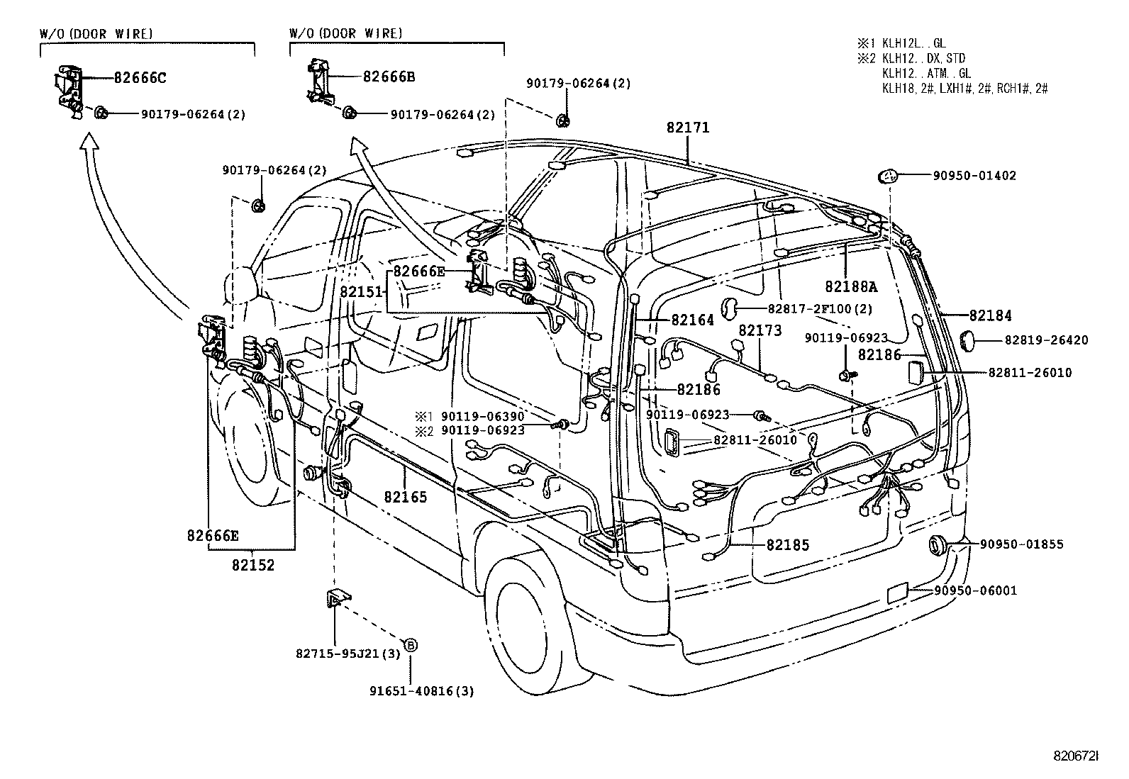 Toyota Hiace Wiring Harness Diagram Data Tacoma Ignition Library Car Stereo