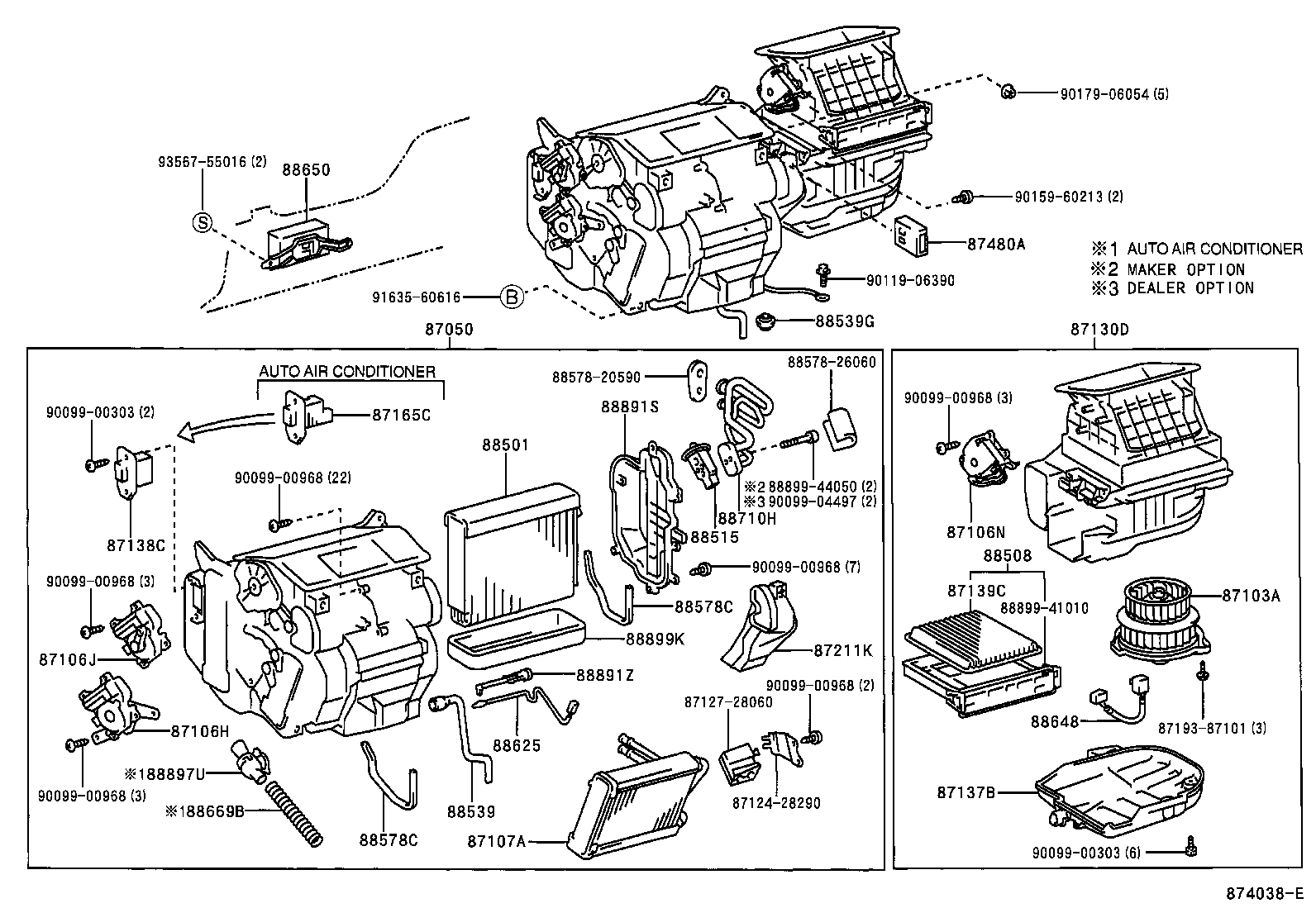 Toyota Previa Air Conditioning Wiring Diagram Electrical Estima Download Heating Cooler Unitfront Illust No 1 Of 3 Nordyne Handler