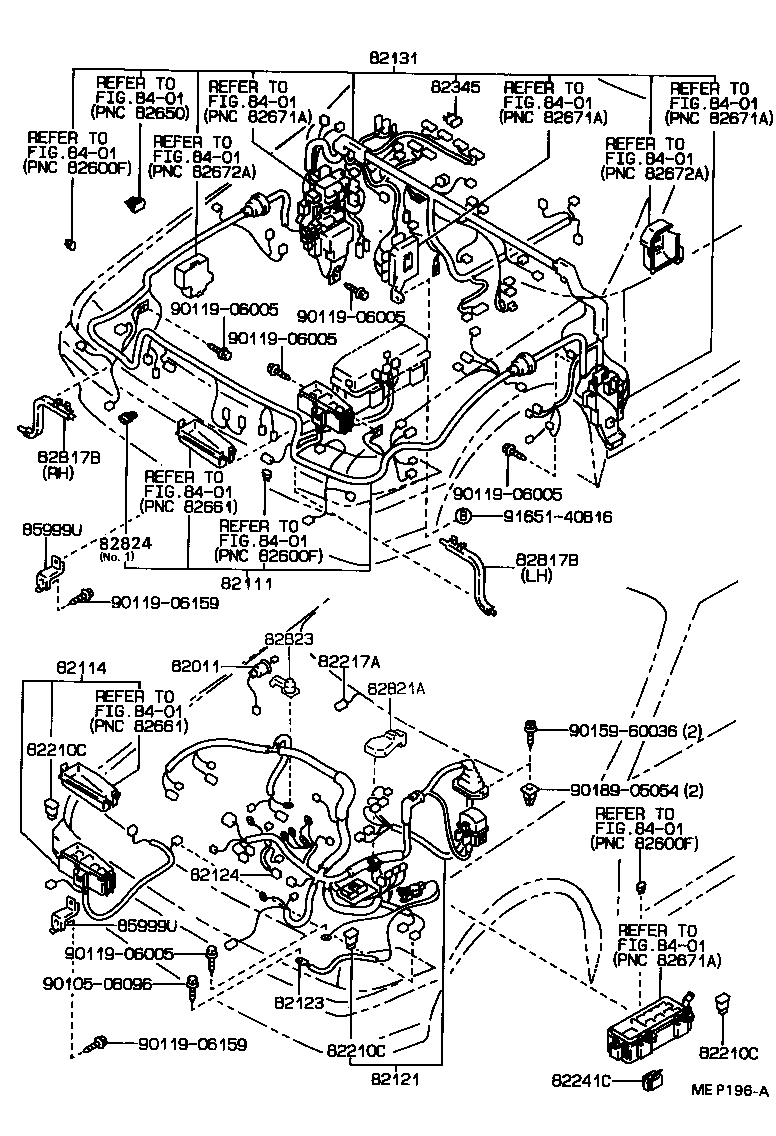 Toyota Carina 2 Wiring Diagram Blog About Diagrams 78 Pickup Clamp Illust No 1 Of 68712 Ct170 At17 1978