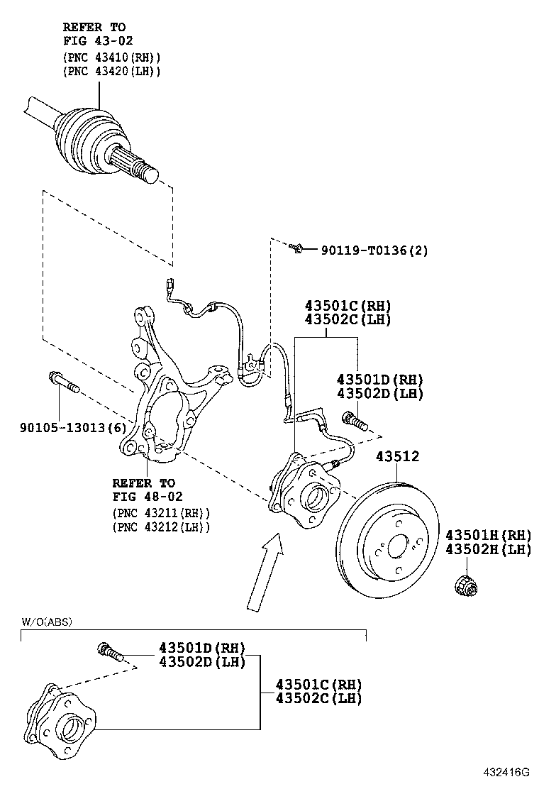 Front Axle Hub Toyota Etios Ngk1nuk1 Asia And Middle East Diagram Liva Crossngk1nuk1
