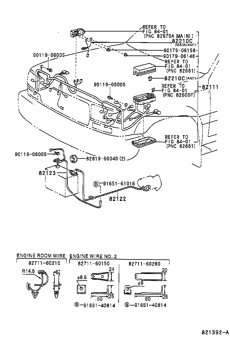 Wiring Clampe G Room Wire Winch Illust No 1 Of 89001 Diagram Efi Toyota Part Code Title Information I